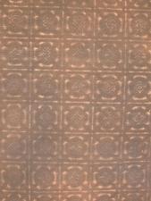 Painted fabrics from tin tiles.JPG